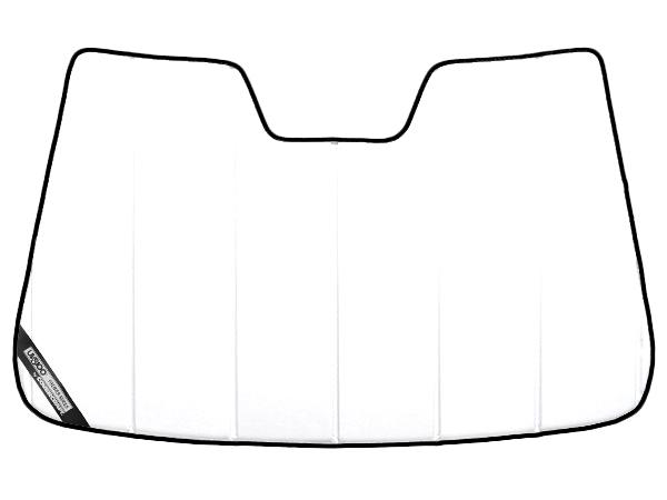 【専用設計】CoverCraft製/UVS100 サンシェード/日除け(ホワイト) プレミア 11y- トヨタ アクア(NHP10H) カバークラフト MADE IN USA
