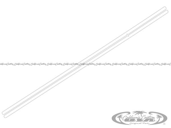 2015y- フォード マスタング 純正ドアエッジプロテクションフィルム