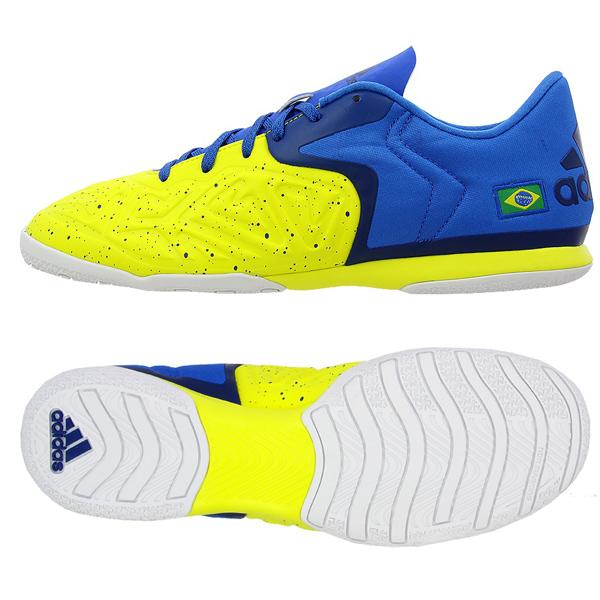 adidasアディダス スニーカー Court Indoor Turt Soccer Shoes Brazil インドア サッカーシューズ ブラジル フットサル X 15.2 Court NON-MARKING AQ2525【あす楽対応】