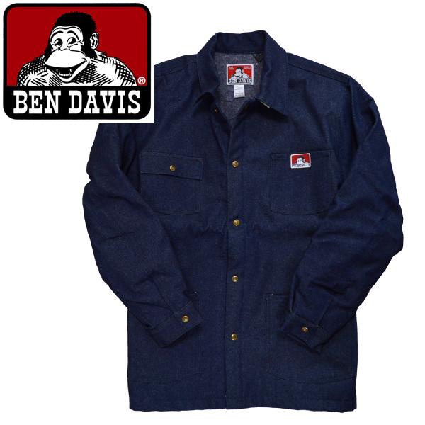 BEN DAVIS ベンデイビス ジャケット アウター カバーオール396ベンデービスORIGINAL STYLE JACKETS BLANKET LINED IndigoDenimインポートブランド海外買い付け[1117]
