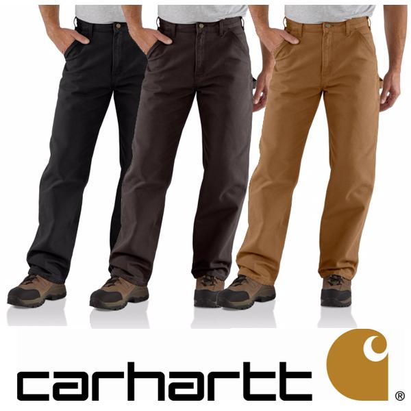カーハート ペインターパンツCarhartt Men's Washed Duck Work Dungaree ワークパンツB11-DKB B11-BLK Carhartt カーハートウォッシュド ダック ペインターパンツLA仕入れアイテム USAモデルワークウェア 作業着 ヒップホップ バイカー