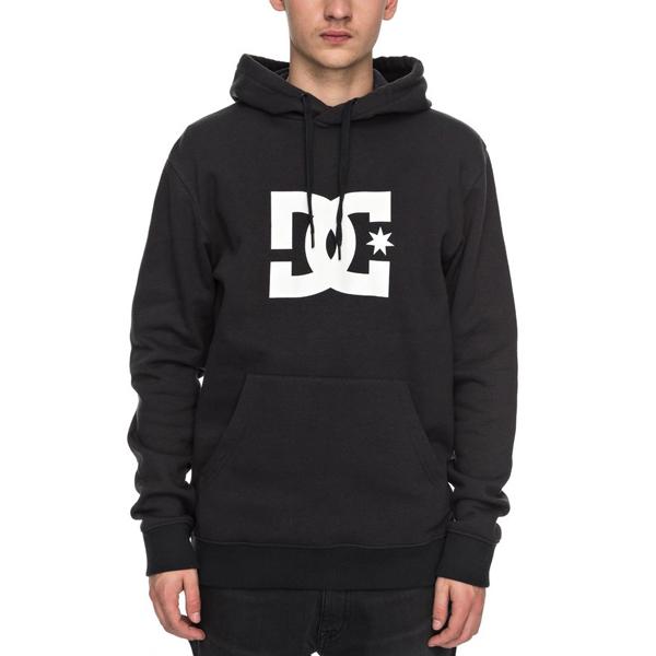 DC Mens Star Pullover Hoodie Sweatshirt DC Young Men/'s EDYSF03107