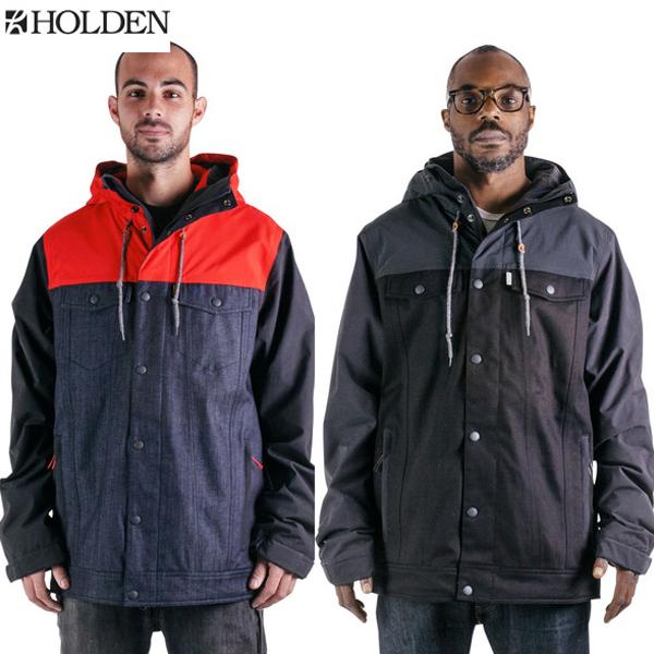 【最安値に挑戦中】HOLDENホールデン [即納]Grayson Jacket 2015-2016モデル ジャケット メンズ スノーボードウェアGYJ-15-N-JK [送料無料] 【あす楽対応】