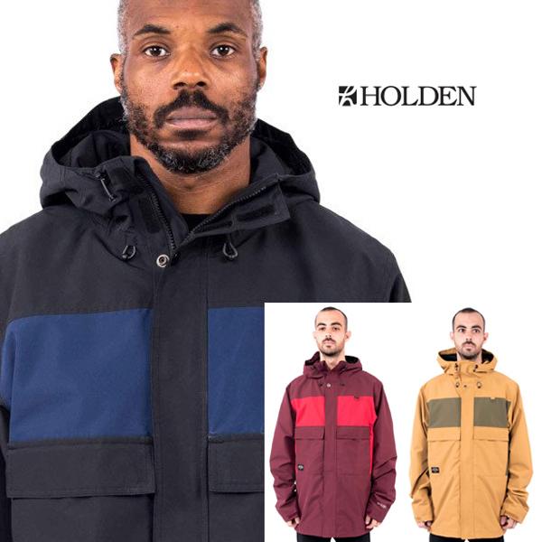 【在庫売りつくし】【最安値に挑戦】Holden ホールデン インポート スノーボードウェア ジャケットメンズSeville Snowboard Jacket 正規品 スノボウェア 直輸入[1216]