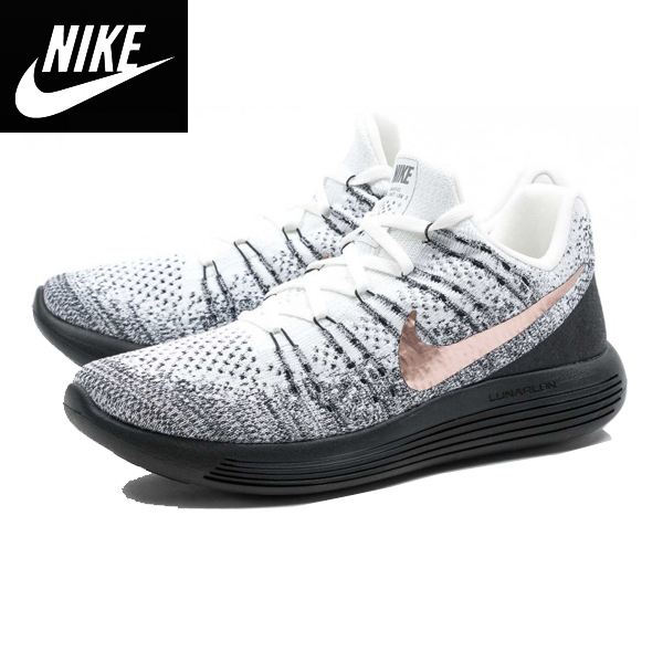Nikeナイキ ルナエピック フライニットLunarEpic Low Flyknit 2 X-Plore Whiteジョギングシューズ トレーニング靴スニーカー正規品904742-100並行輸入インポートブランド海外買い付け[0119]