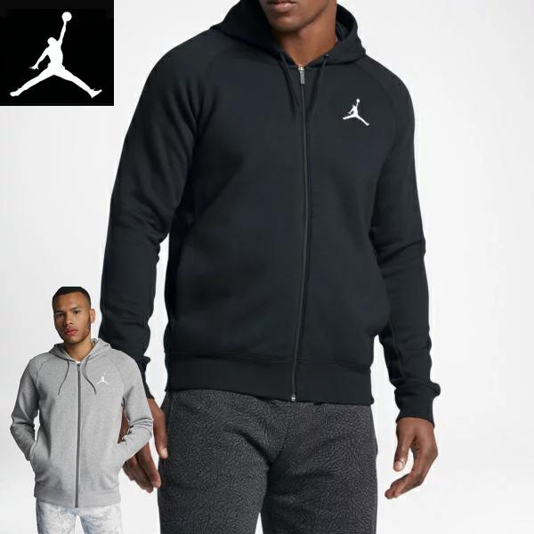 Nike ナイキ正規品エアージョーダンジップアップパーカー フーディ STANDARD FITスポーツウェアAir Jordan Flight Men's Basketball Jacket黒ブラックAA5583-010並行輸入インポートブランド海外買い付け[0319]