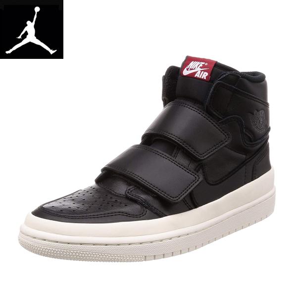 再入荷 ナイキNike ナイキ エアジョーダン1 レトロ ハイ  Nike ナイキ エアージョーダン レトロ ハイ ダブルストラップAir Jordan 1 RE Hi Double STRP黒ブラックAQ7924001スニーカー海外買い付けインポートブランド[1019]