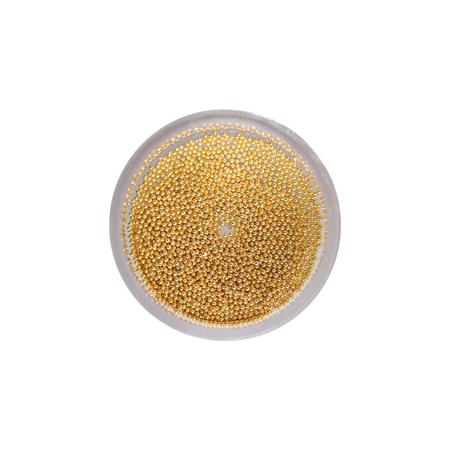 色落ちしにくい極小 約0.6mm のメタルブリオン BEAUTY NAILER ビューティーネイラー 《週末限定タイムセール》 国内即発送 B.N. プレミアムシリーズ ブリオン メタル パーツ PSP-6 メタルブリオン メタリック ネイルアート ゴールド