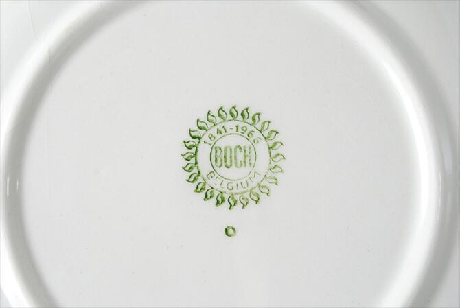1960u0027s vintage BOCH Boch Bernadette porcelain cake plate 19 cm dish pottery antique European & Callum shop | Rakuten Global Market: 1960u0027s vintage BOCH Boch ...