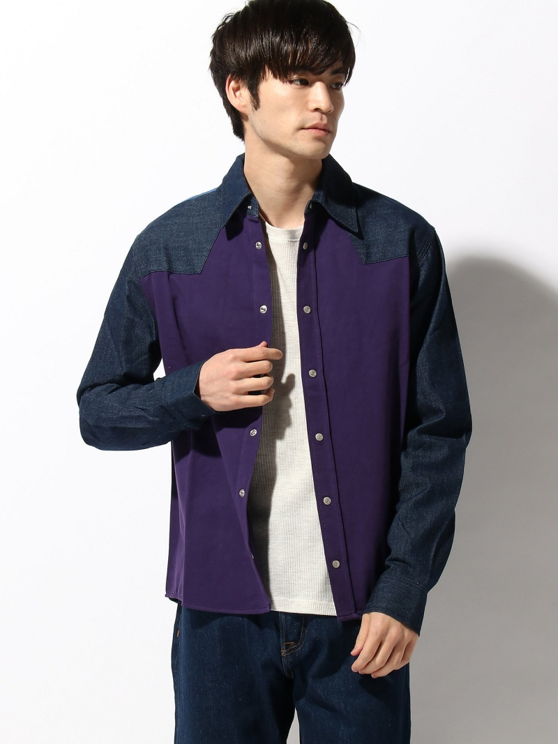[ Fashion]【SALE/60%OFF】【カルバン クライン ジーンズ】 AS-ARCHV WSTRN BLKLS Calvin Klein Jeans カルバン・クライン シャツ/ブラウス 長袖シャツ ネイビー【RBA_E】【送料無料】:CALVIN KLEIN