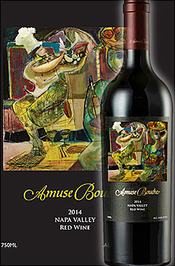 《アミューズブーシュ》 メルロー ナパヴァレー (プロプライアタリーレッド) [2014] Amuse Bouche Napa Valley Merlot 750ml [ナパバレー赤ワイン カリフォルニアワイン カルトワイン] 送料込みクール代は別途+260円