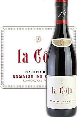 《ドメーヌ・ド・ラ・コート》 ピノノワール ラ・コート サンタリタヒルズ [2013] DOMAINE DE LA COTE Estate Single Vineyard la Côte Pinot Noir, Santa Rita Hills, Santa Barbara County 750ml [赤ワイン] [カリフォルニアワイン IPOB]