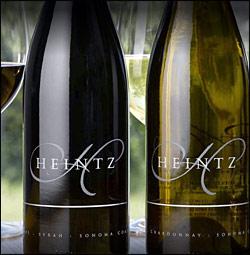"""●正規品 《チャールズ・ハインツ》 シャルドネ """"レイチェル"""" [2013] / シラー """"エステイト"""" ソノマ・コースト [2012] Charles Heintz Vineyard Winery Chardonnay RACHAEL Syrah ESTATE Sonoma Coast 750ml カリフォルニア赤白ワイン"""