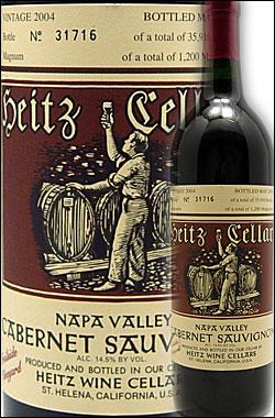 """●1本で送料無料 蔵出正規品 《ハイツ・セラー》 カベルネソーヴィニヨン """"トレイルサイド ヴィンヤード"""" ラザフォード, ナパヴァレー [2010] Heitz Cellar Cabernet Sauvignon Trailside Vineyard Napa Valley 750ml カリフォルニア ナパバレー赤ワイン ※クールは+260円"""