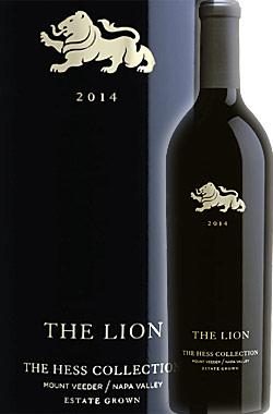 """●蔵出正規品 《ザ・ヘスコレクション》 """"ザ・ライオン"""" カベルネ・ソーヴィニヨン, マウント・ヴィーダー, ナパ・ヴァレー [2014] Hess Collection THE LION Estate Grown Cabernet Sauvignon Mount Veeder, Napa Valley 750ml [ナパバレー赤ワイン カリフォルニアワイン]"""