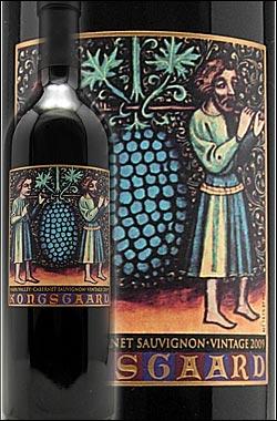 《コングスガード》 カベルネソーヴィニヨン ナパヴァレー [2009] Kongsgaard Cabernet Sauvignon Napa Valley 750ml ナパバレー赤ワイン カリフォルニアワイン専門店あとりえ ギフト 贈り物 お歳暮 誕生日プレゼント 高級:カリフォルニアワインあとりえ
