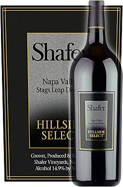 """《シェイファー》 カベルネソーヴィニヨン """"ヒルサイド・セレクト"""" スタッグスリープ・ディストリクト, ナパヴァレー [2013] Shafer Vineyards Hillside Select Cabernet Sauvignon Stag's Leap District, Napa Valley 750ml ナパバレー赤ワイン シェーファー 正規品"""