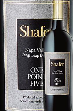 """《シェイファー》 カベルネソーヴィニヨン """"ワンポイント・ファイブ"""" スタッグスリープ・ディストリクト, ナパヴァレー [2015] Shafer Vineyards Cabernet Sauvignon One Point Five Stag's Leap (SLD) Napa Valley シェーファー750ml [ナパバレー赤 カリフォルニアワイン]"""