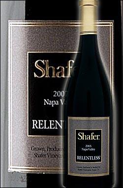 """《シェイファー》 シラー """"リレントレス"""" ナパヴァレー [2015] Shafer Vineyards Syrah Relentless Napa Valley シェーファー 750ml [カリフォルニアワイン ナパバレー赤ワイン] ワイン専門店あとりえ ギフト プレゼントにも 高級"""