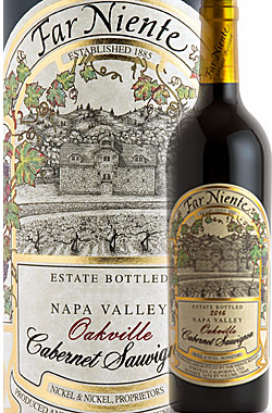 "●WA97+点《ファーニエンテ》 カベルネソーヴィニヨン ""エステイト"" オークヴィル, ナパヴァレー [2016] Far Niente Winery Estate Bottled Cabernet Sauvignon Oakville Napa Valley Established 1885 Nickel&Nickel Proprietors 750ml カリフォルニア ナパバレー赤ワイン"
