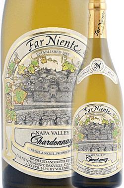 """《ファーニエンテ》 シャルドネ """"エステイト"""" ナパ・ヴァレー [2017] Far Niente Estate Bottled Chardonnay, Napa Valley (Coombsville) Established 1885 Nickel&Nickel Proprietors 750ml ナパバレー白ワイン(クームスヴィル地区) カリフォルニアワイン"""
