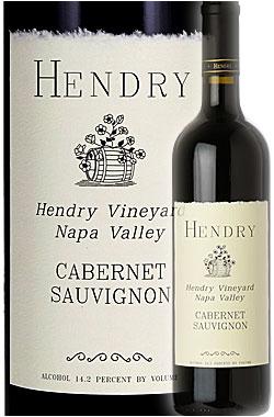 """※ブロック8後継《ヘンドリー》 カベルネ・ソーヴィニヨン """"ヘンドリー・ヴィンヤード """" ナパ・ヴァレー [2015] Hendry Wines Cabernet Sauvignon Esatte Vineyard, Oak Knoll, Napa Valley 750ml 旧Block8 カリフォルニアワイン オークノールAVAナパバレー赤ワイン"""