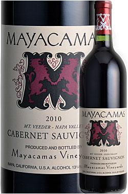 """●2010年《マヤカマス・ヴィンヤーズ》 カベルネ・ソーヴィニヨン """"マウント・ヴィーダー"""" ,ナパ・ヴァレー [2010] Mayacamas Vineyards Cabernet Sauvignon MOUNT VEEDER, Napa Valley 750ml ナパバレー山カベ赤ワイン カリフォルニアワイン お中元 誕生日プレゼント 高級"""