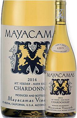 """《マヤカマス・ヴィンヤーズ》 シャルドネ """"マウント・ヴィーダー"""" ,ナパ・ヴァレー [2014] Mayacamas Vineyards Chardonnay MOUNT VEEDER, Napa Valley 750ml ナパバレー白ワイン カリフォルニアワイン プレゼントにも 高級"""