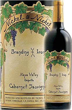 """《ニッケル&ニッケル》 カベルネ・ソーヴィニヨン """"ブランディングアイアン・ヴィンヤード"""" オークヴィル, ナパ・ヴァレー [2016] Nickel & Nickel Cabernet Sauvignon BRANDING IRON VINEYARD, Oakville, Napa Valley 750ml [ナパバレー赤ワイン カリフォルニアワイン]"""