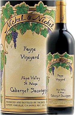 """《ニッケル&ニッケル》 カベルネ・ソーヴィニヨン """"ハイン・ヴィンヤード"""" セントヘレナ, ナパ・ヴァレー [2016] Nickel & Nickel Cabernet Sauvignon HAYNE VINEYARD, St. Helena, Napa Valley 750ml ヘイン ナパバレー赤ワイン カリフォルニアワイン"""