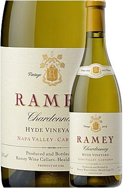 """《レイミー》 シャルドネ """"ハイド・ヴィンヤード"""" カーネロス, ナパ・ヴァレー [2014] or [2016] Ramey Wine Cellars Chardonnay Hyde Vineyard, Los Carneros, Napa Valley 750ml ナパバレー白ワイン カルネロス カリフォルニアワイン"""