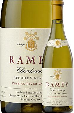 """●WA95+点/AG95/WE95/WS94《レイミー》 シャルドネ """"リッチー・ヴィンヤード"""" ソノマコースト (ロシアンリヴァーヴァレー) [2016] Ramey Wine Cellars Chardonnay Ritchie Vineyard, Russian River Valley (Sonoma Coast) 750ml カリフォルニアワイン"""