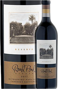 """●トーマス・ブラウン作《ラウンドポンド》 カベルネソーヴィニヨン """"リザーヴ"""" ラザフォード, ナパ・ヴァレー [2011] Round Pond Estate Winesy Cabernet Sauvignon RESERVE Rutherford, Napa Valley 750ml ナパバレー赤ワイン カリフォルニアワイン正規品"""