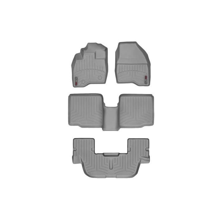【車種専用設計】エクスプローラー フロアライナーセット ウェザーテック/WeatherTech  グレー 4PC '15y~'16y【アメ車パーツ】