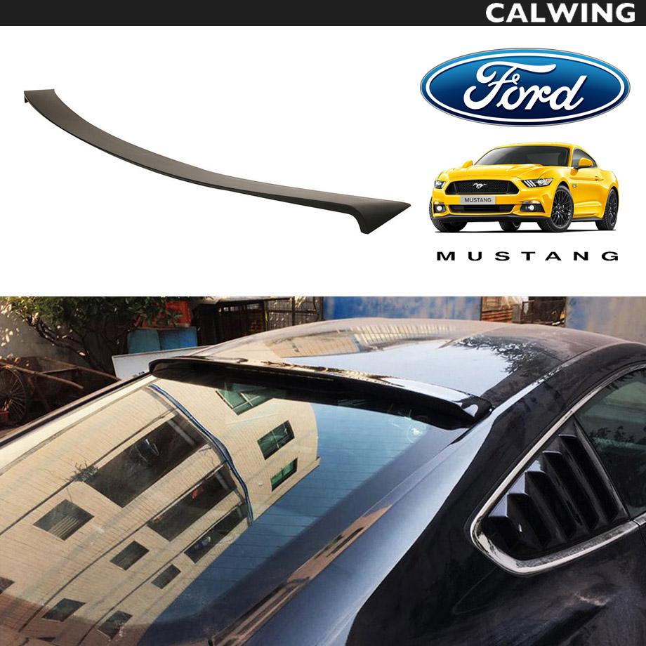 FORD/フォード MUSTANG/マスタング リアウインドウルーフスポイラー ウイング '15y~'17y【アメ車パーツ】