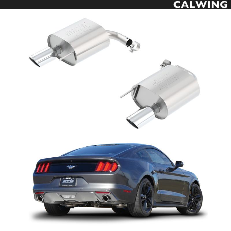FORD/フォード MUSTANG/マスタング 2.3L/エコブースト 3.7L/V6 BORLA/ボーラマフラー ATAK アスクルバック '15y~'18y【アメ車パーツ】