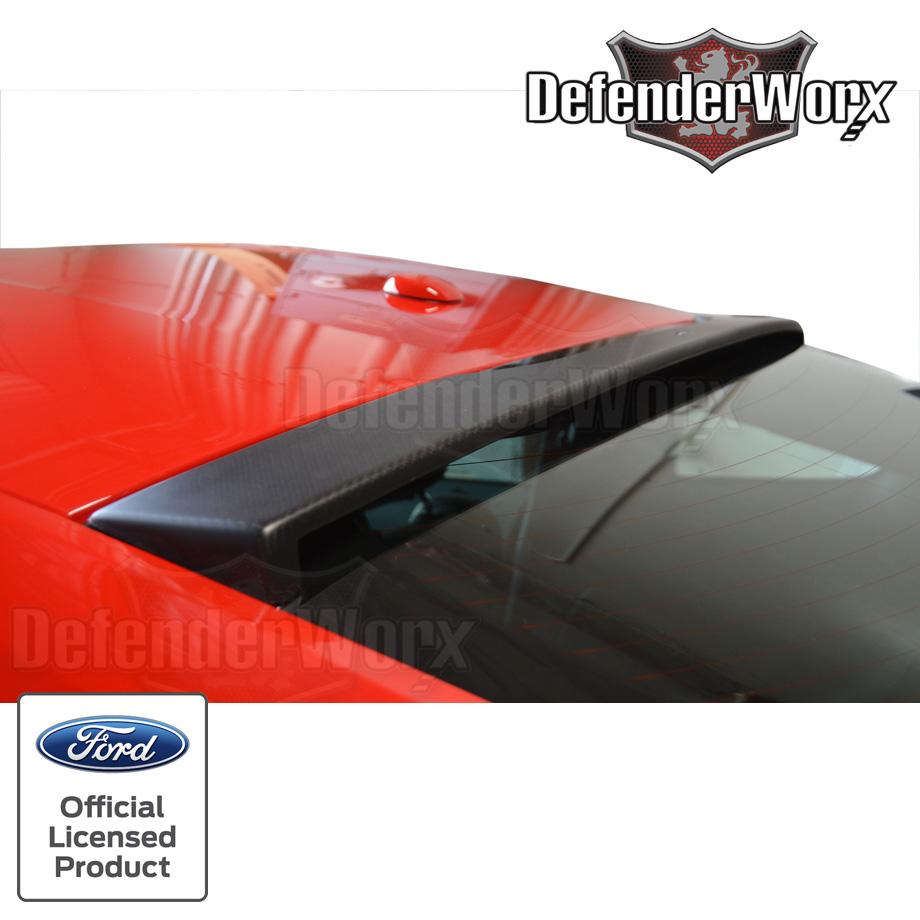 マスタング ディフェンダーワークス リアウインドウアッパースポイラー マットカーボンファイバー '15y~【アメ車パーツ】