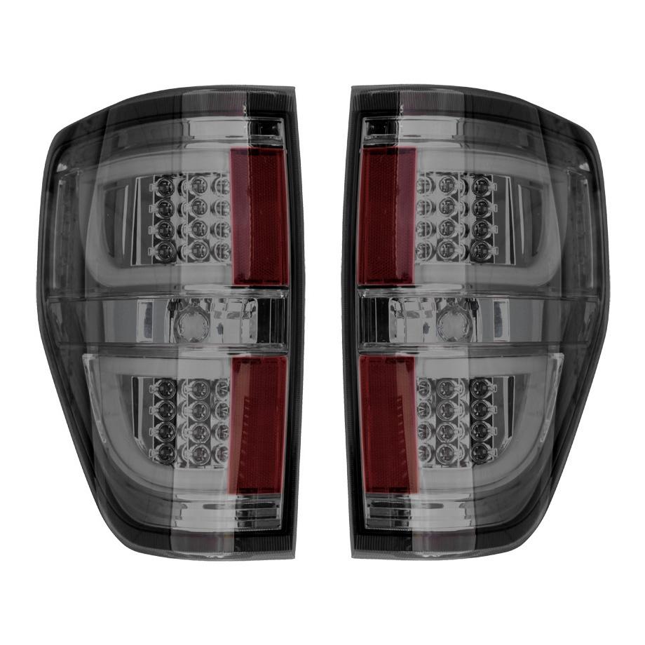【売り切り特価!】F150 ユーロLEDテールランプ スモーク LEDバー '09y~'13y【アメ車パーツ】