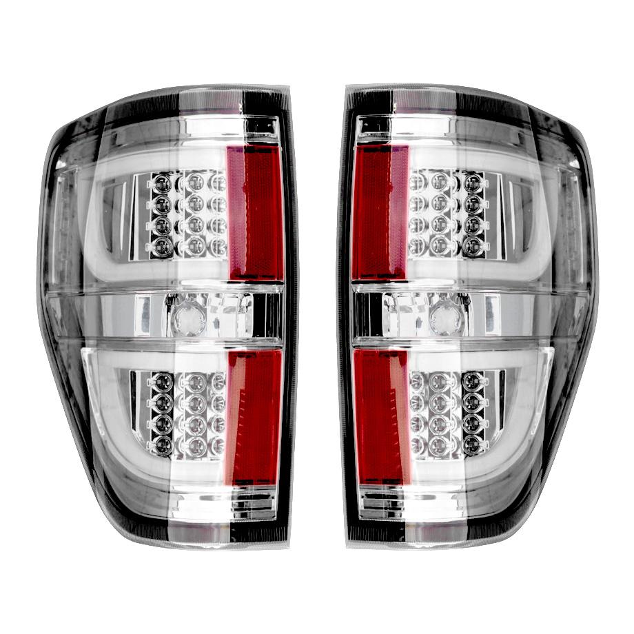 【売り切り特価!】F150 ユーロLEDテールランプ クリア LEDバー '09y~'13y【アメ車パーツ】