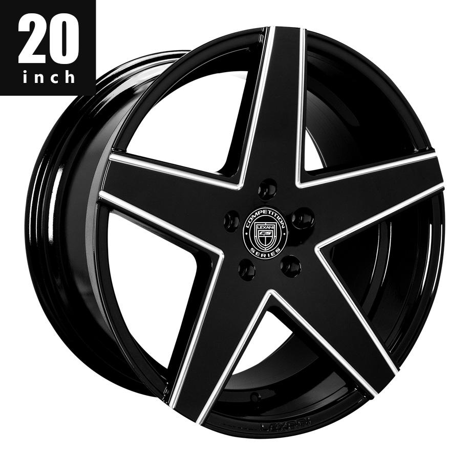 欧州車 アメ車 国産車 ホイール LEXANI/レクサーニ レグザーニ MAINZ BG 20インチ タイヤ&ホイールセット キャデラック ベンツ BMW アウディ レクサス ニッサン ダッジ クライスラー 等