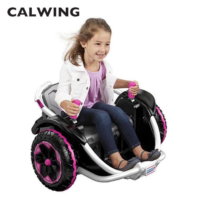 電動乗用 スリルライド360度高速回転 ライドオン ワイルドシングス 12V ピンク
