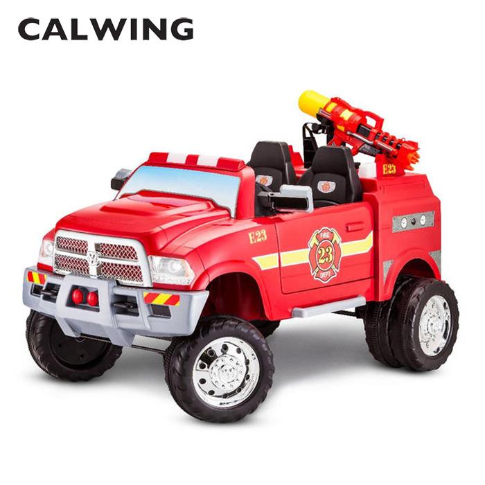 子供 キッズ ベビー おもちゃ トイ 電動乗用 ダッジ ファイヤートラック ラムピックアップ3500 12V