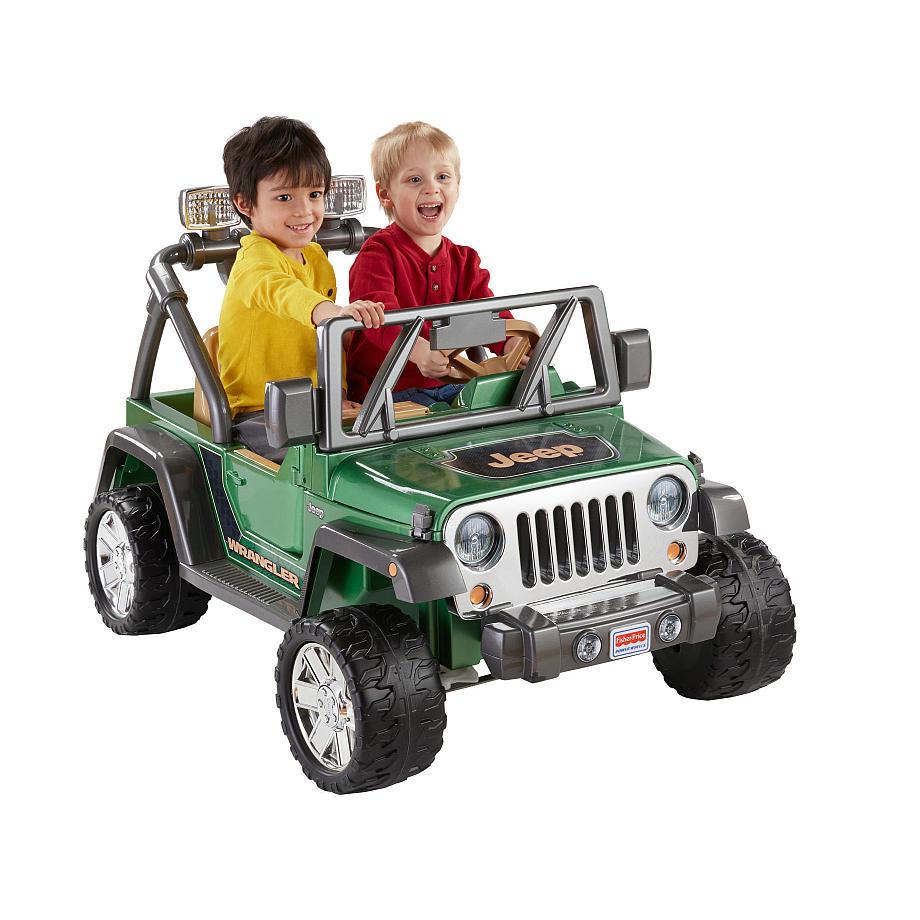 子供 キッズ ベビー おもちゃ トイ 電動乗用 JEEP/ジープ ラングラー グリーン 12V