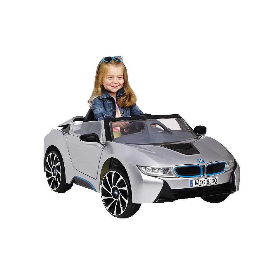 子供 キッズ ベビー おもちゃ トイ 電動乗用 BMW I8 シルバー 6V