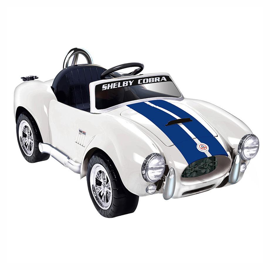 子供 キッズ ベビー おもちゃ トイ 電動乗用 ジェルビー ホワイト&ブルーストライプ 6V