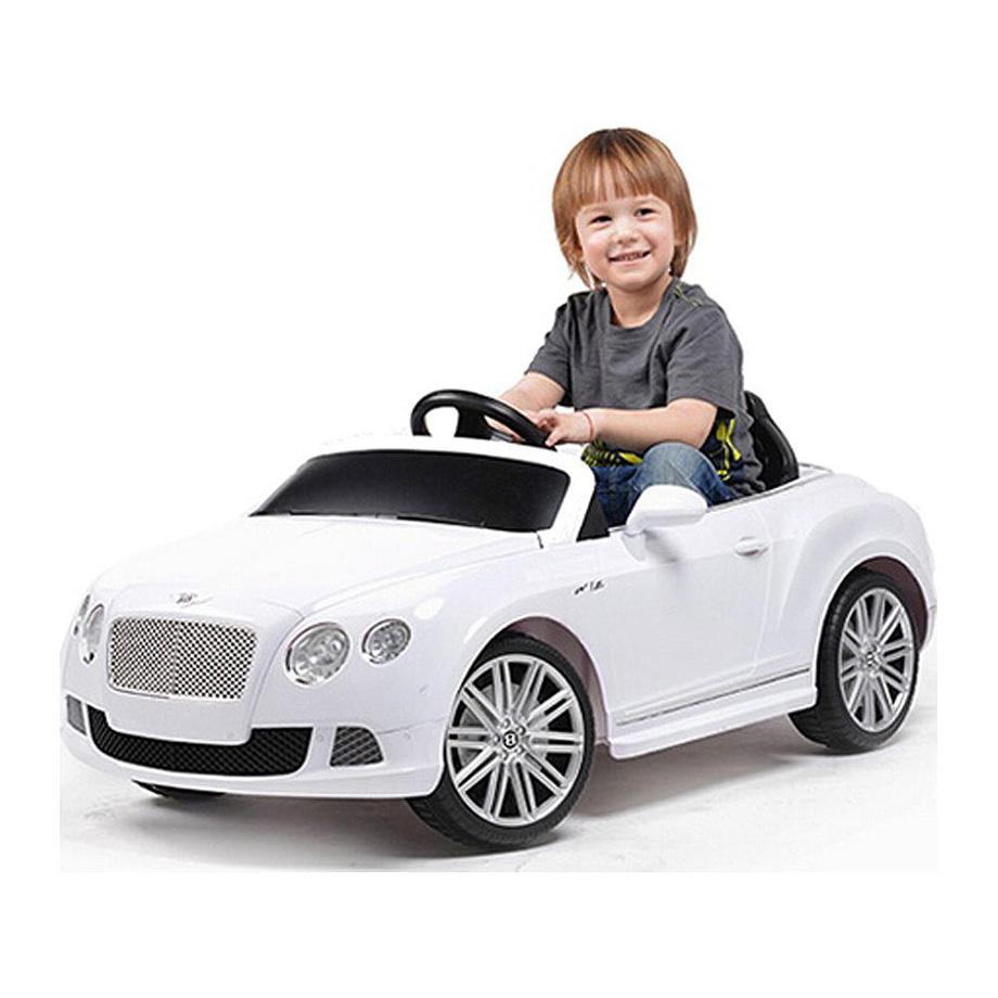 子供 キッズ ベビー おもちゃ トイ 電動乗用 ベントレー GTC ホワイト 12V