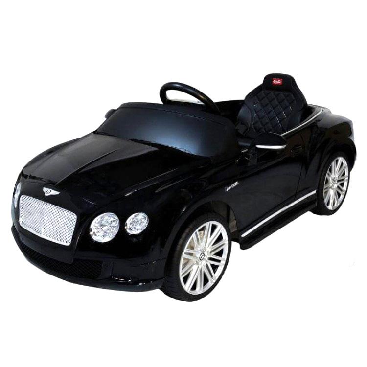 電動乗用 子供用ラグジュアリーカー キッズ ベビー おもちゃ トイ ベントレー コンチネンタル ブラック ライト点灯OK プロポコントローラー付属 12V