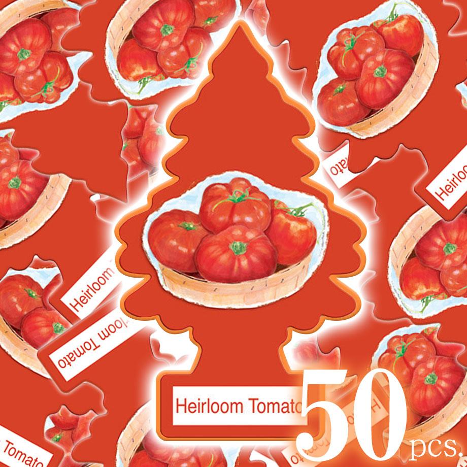 アメリカの香り エアフレッシュナー 芳香剤 リトルツリー LittleTrees エアルームトマト Heirloom Tomato 50pcs Made in USA