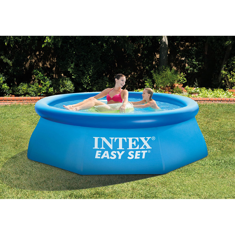 【プール 大型 家庭用 BIG】インテックス INTEX イージーセットプール 8フィートx30インチ