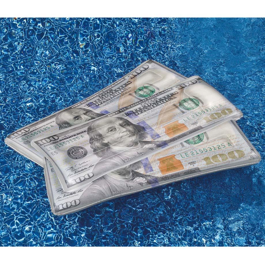 【アメリカ直輸入 トイ オモチャ キッズ】 SWIMLINE スイムライン ウォーターフロート 浮き輪 クールキャッシュ ドル 紙幣